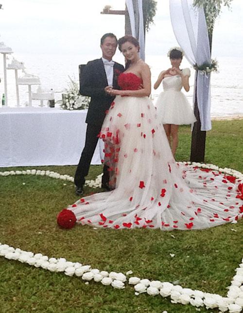 Muôn màu cảnh cưới hỏi của sao Việt - 5