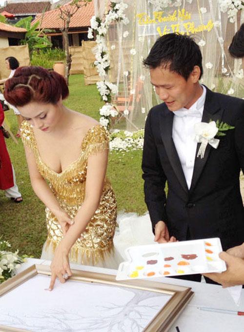 Muôn màu cảnh cưới hỏi của sao Việt - 4
