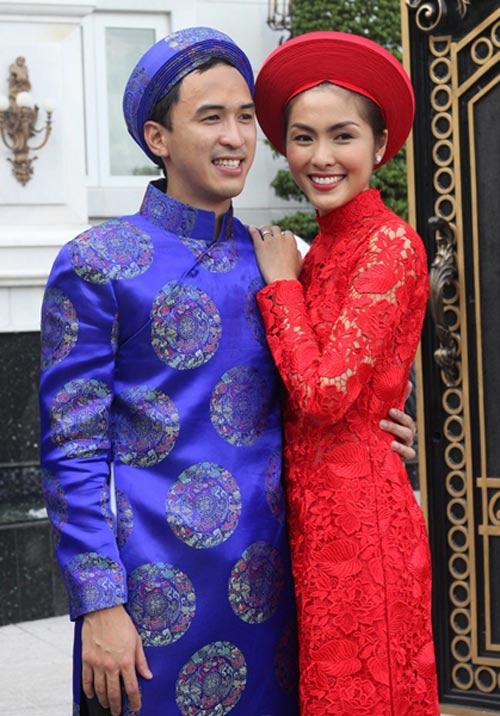 Muôn màu cảnh cưới hỏi của sao Việt - 6