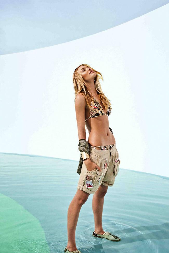 Candice Swanepoel là một trong những thiên thần lão làng tại hãng nội y VS.