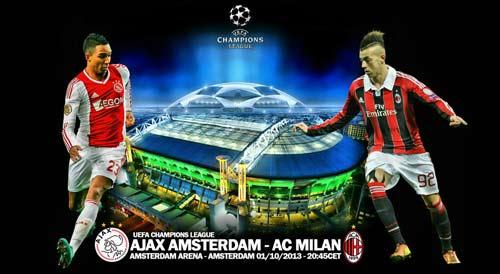 Ajax – Milan: Cán cân ở giữa - 1