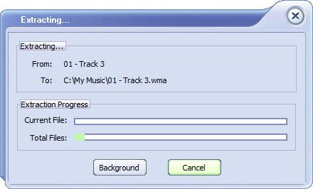 Chép nhạc CD vào máy tính với FairStars CD Ripper - 6