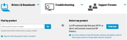 Tự động dò tìm driver cho laptop HP - 2