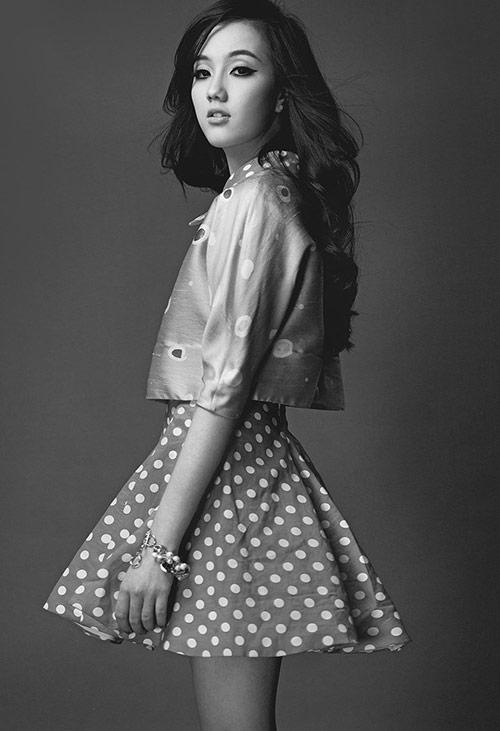 Vẻ đẹp lả lơi của hot girl Mie - 2