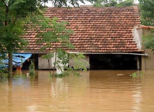 Nghệ An: Xả lũ khẩn cấp, nước ngập nuốt mái nhà - 12