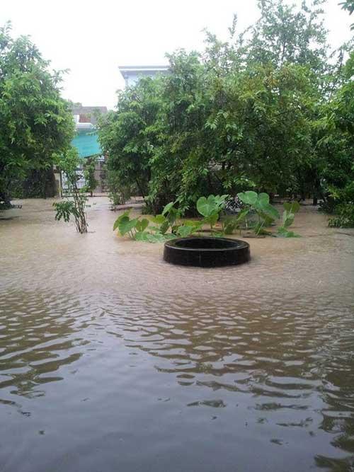 Nghệ An: Xả lũ khẩn cấp, nước ngập nuốt mái nhà - 7