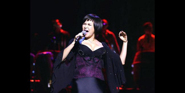 Thanh Lam là một trong 4 ca sỹ nữ được khán giả coi như diva của làng nhạc Việt.