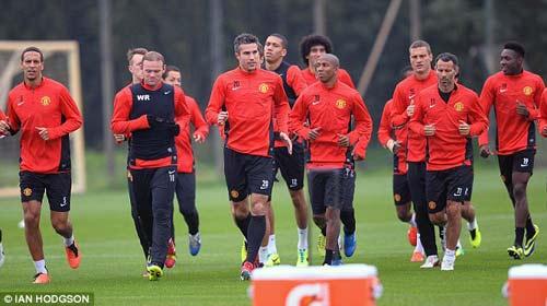 MU: Rooney – Persie sẵn sàng xung trận - 1