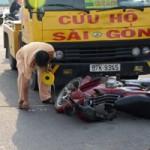Tin tức trong ngày - Tai nạn đầu tiên trên đường nội ô đẹp nhất TPHCM