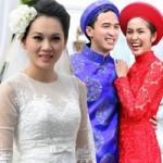 Muôn màu cảnh cưới hỏi của sao Việt