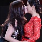 Ca nhạc - MTV - Bỏng rẫy nụ hôn đồng giới sao Hoa ngữ