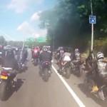 Tin tức trong ngày - Mỹ: Đoàn mô-tô đuổi đánh xe Range Rover