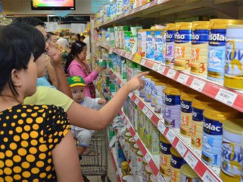 Giá sữa vẫn... bất kham - 1