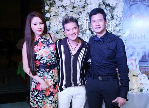 Vợ chồng Hà Hồ mừng sinh nhật Mr. Đàm - 6