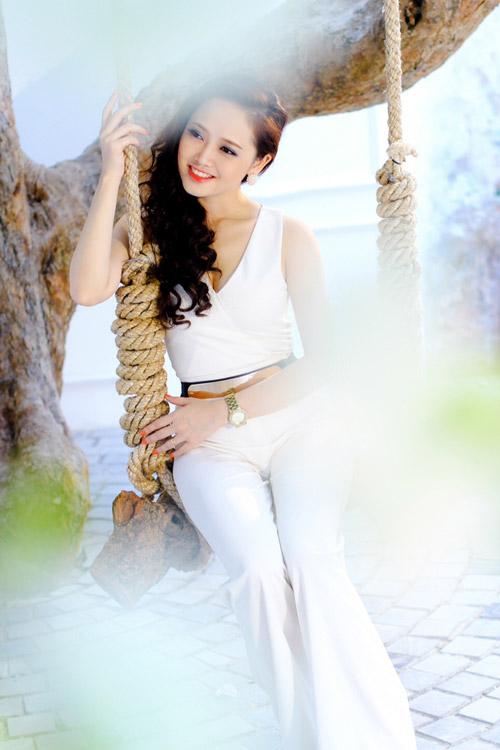 Mặc đẹp như Ngọc Trang khúc giao mùa - 6
