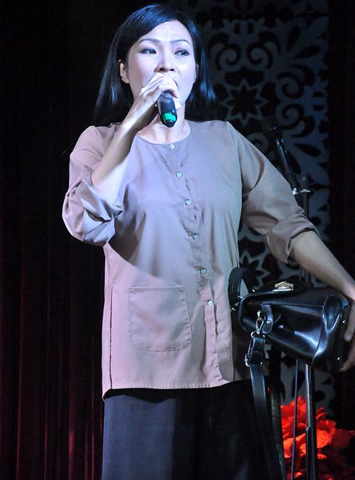 """Phương Thanh thử """"ngất"""" trong tay Quang Lê - 6"""