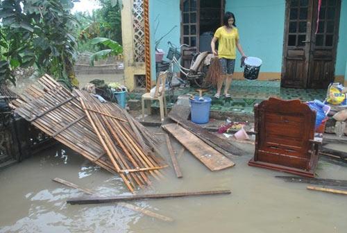 Cảnh tan hoang sau vụ vỡ 2 hồ đập ở Thanh Hóa - 1