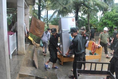 Cảnh tan hoang sau vụ vỡ 2 hồ đập ở Thanh Hóa - 14