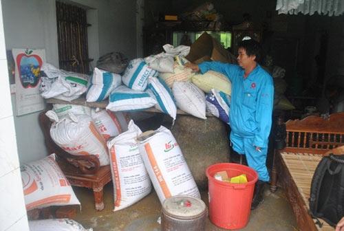Cảnh tan hoang sau vụ vỡ 2 hồ đập ở Thanh Hóa - 2