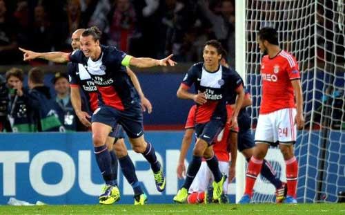 PSG – Benfica: Đòn phủ đầu - 1
