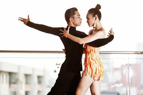 Cặp đôi triển vọng của dancesport Việt - 1