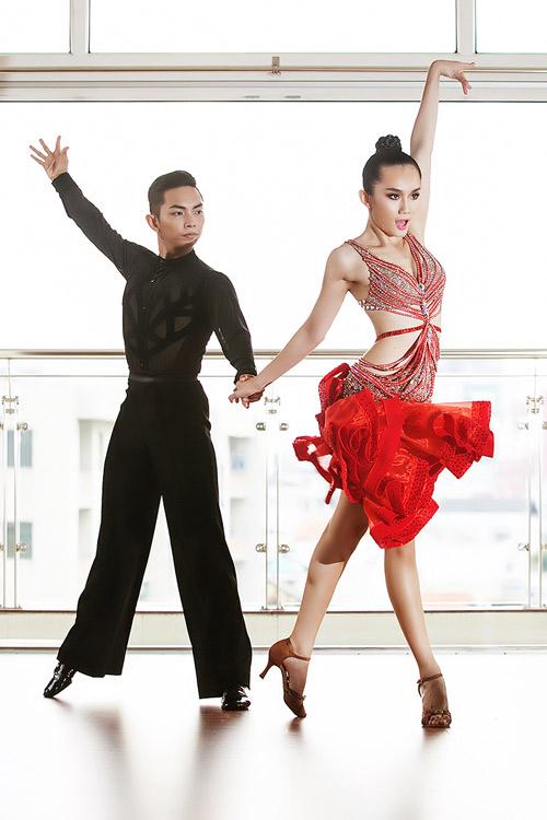 Cặp đôi triển vọng của dancesport Việt - 3