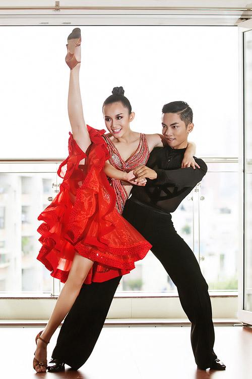 Cặp đôi triển vọng của dancesport Việt - 4