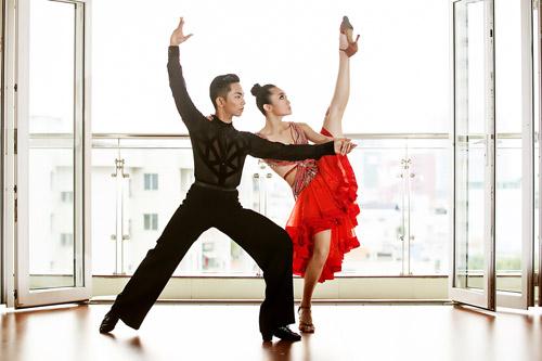 Cặp đôi triển vọng của dancesport Việt - 5