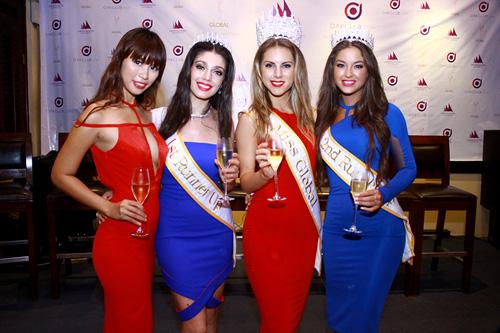 """Hà Anh """"lấn át"""" hoa hậu Miss Global - 5"""