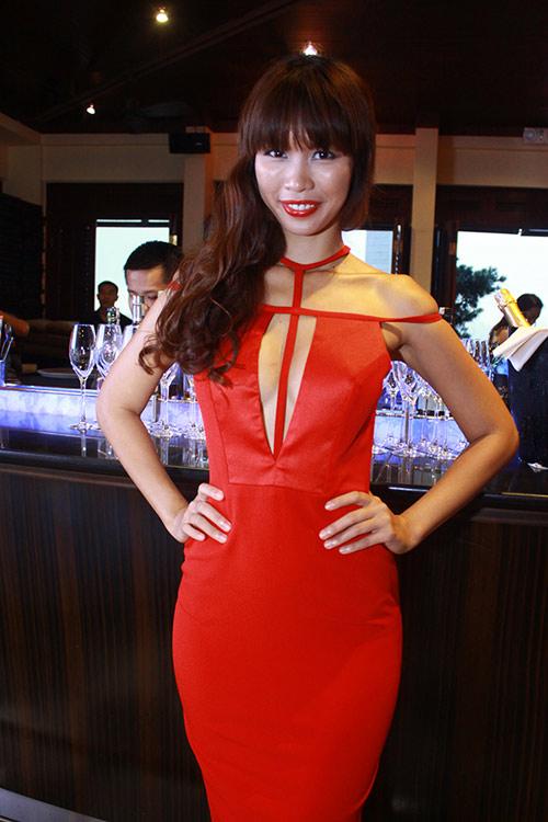 """Hà Anh """"lấn át"""" hoa hậu Miss Global - 4"""