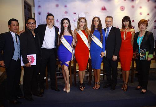 """Hà Anh """"lấn át"""" hoa hậu Miss Global - 10"""