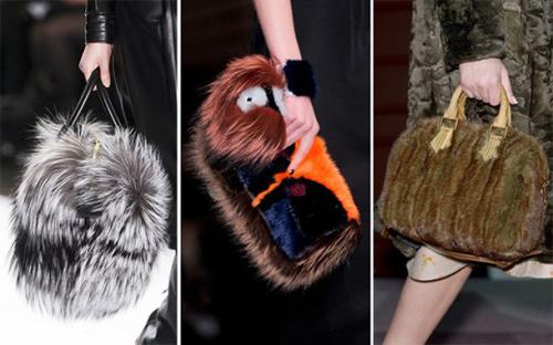 Túi lông sành điệu cho tín đồ mùa lạnh - 5