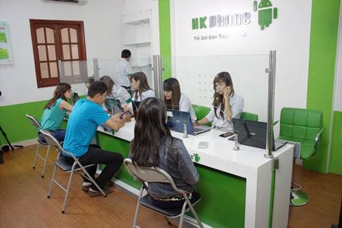 HKPhone sở hữu 4 trung tâm bảo hành quy mô lớn - 4