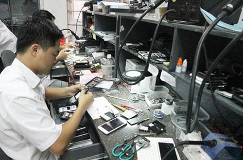 HKPhone sở hữu 4 trung tâm bảo hành quy mô lớn - 8