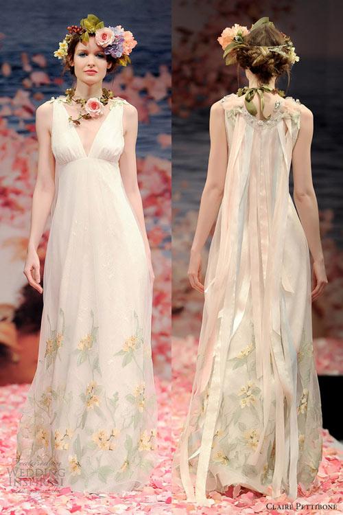 Ngắm vườn địa đàng trên váy cưới nàng - 11