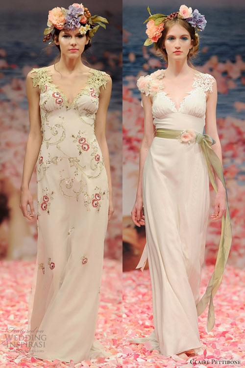 Ngắm vườn địa đàng trên váy cưới nàng - 12