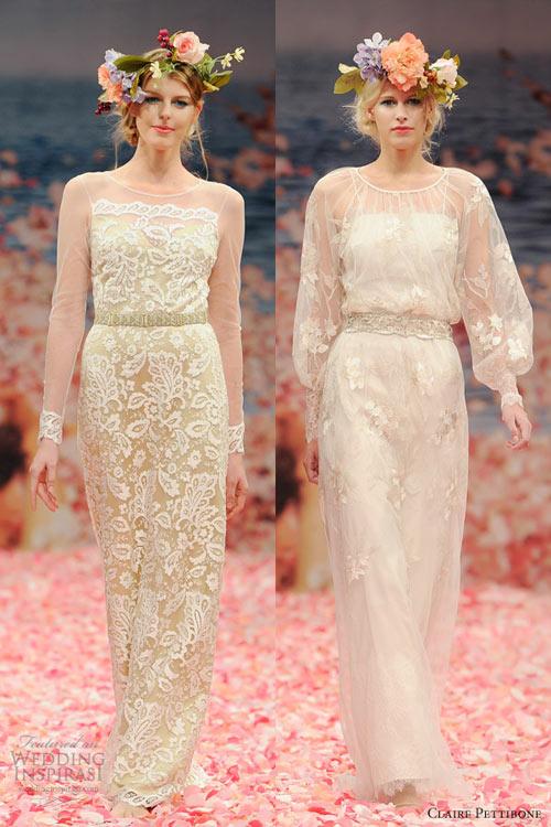 Ngắm vườn địa đàng trên váy cưới nàng - 13