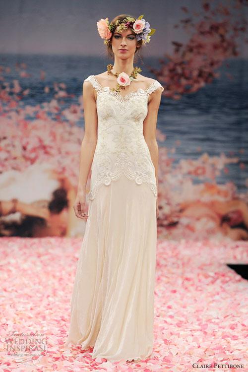 Ngắm vườn địa đàng trên váy cưới nàng - 4