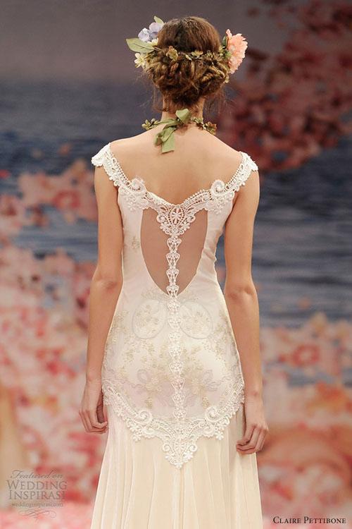 Ngắm vườn địa đàng trên váy cưới nàng - 5