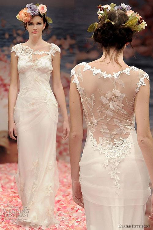 Ngắm vườn địa đàng trên váy cưới nàng - 6