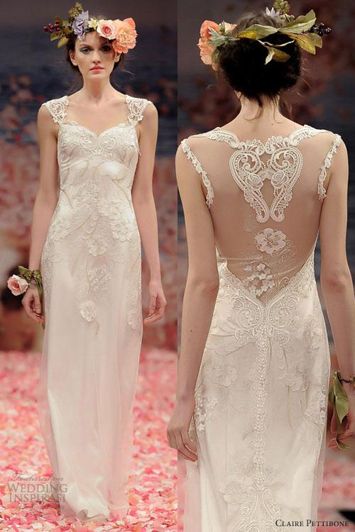 Ngắm vườn địa đàng trên váy cưới nàng - 7