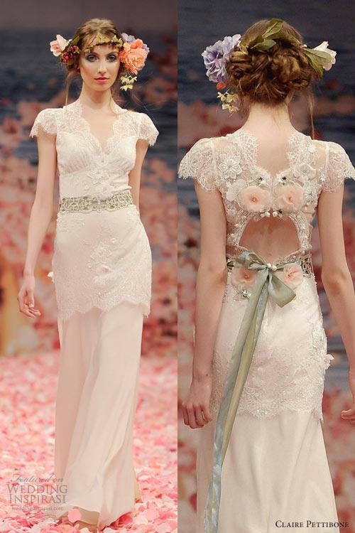 Ngắm vườn địa đàng trên váy cưới nàng - 9