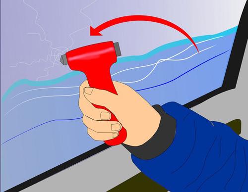Những vật dụng cứu mạng khi xe ngập nước - 2