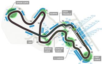 Lịch thi đấu F1: Japanese GP 2014 - 1