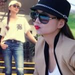 Thời trang - Mặc skinny sang chảnh như Thanh Hằng