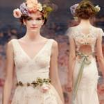 Thời trang - Ngắm vườn địa đàng trên váy cưới nàng