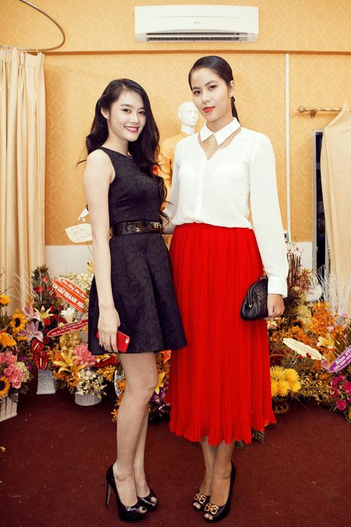 Linh Chi trẻ trung cùng váy xòe - 11