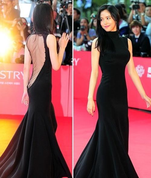 Người đẹp Hàn phải trả giá vì váy mỏng - 7