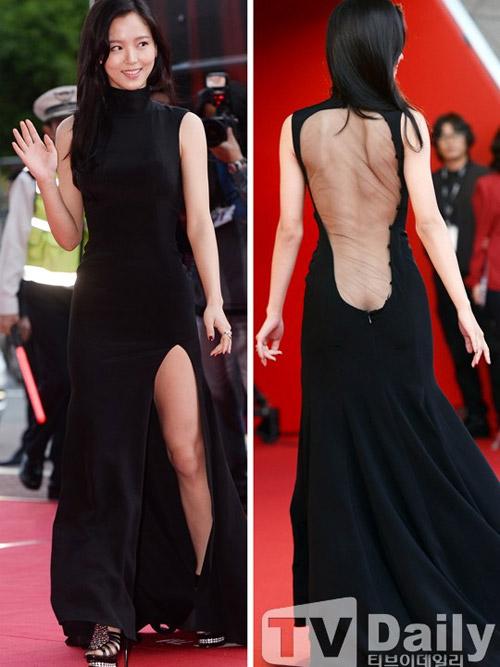 Người đẹp Hàn phải trả giá vì váy mỏng - 3