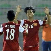 Video U19 VN thắng tưng bừng U19 Đài Loan